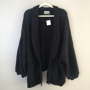 NWT UO oversized chunky open knit sweater cardigan